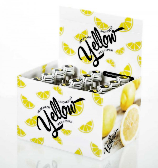 Yellow Limoncello